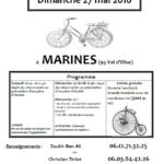 Affiche Bourse aux vélos marines 2018